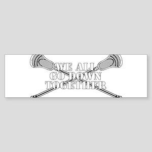 Lacrosse Goodnight Siagon Bumper Sticker