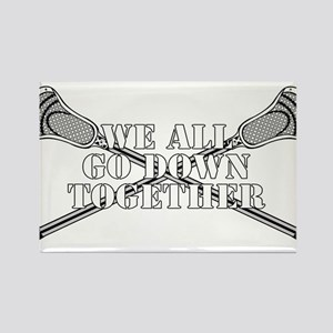 Lacrosse Goodnight Siagon Rectangle Magnet