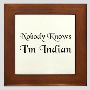 The Indian Framed Tile