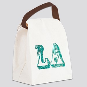 los angeles Canvas Lunch Bag