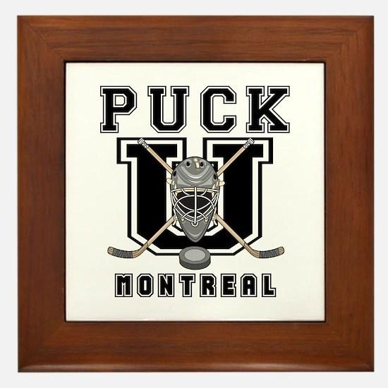 Montreal Hockey Framed Tile
