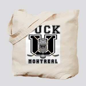 Montreal Hockey Tote Bag