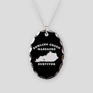 Bowling Green Massacre Survivo Necklace Oval Charm
