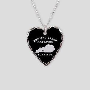 Bowling Green Massacre Surviv Necklace Heart Charm
