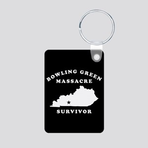 Bowling Green Massacre Sur Aluminum Photo Keychain