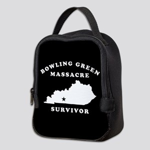 Bowling Green Massacre Survivor Neoprene Lunch Bag
