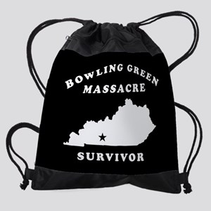 Bowling Green Massacre Survivor Drawstring Bag
