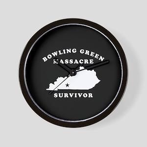 Bowling Green Massacre Survivor Wall Clock