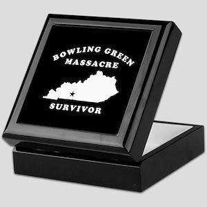 Bowling Green Massacre Survivor Keepsake Box