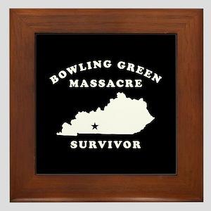 Bowling Green Massacre Survivor Framed Tile