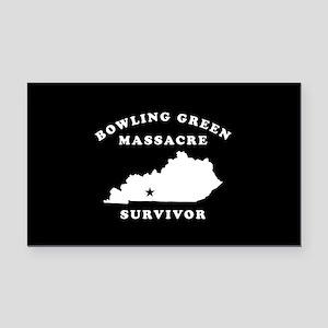 Bowling Green Massacre Surviv Rectangle Car Magnet