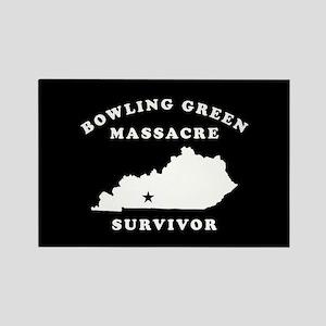 Bowling Green Massacre Survivor Rectangle Magnet