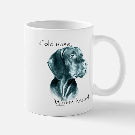Vizsla Warm Heart Mug