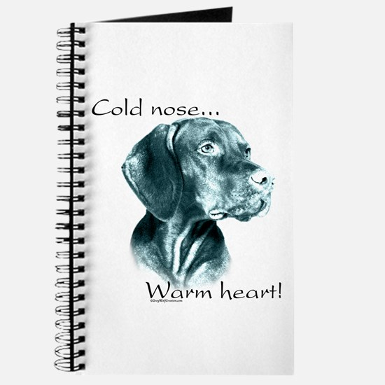 Vizsla Warm Heart Journal