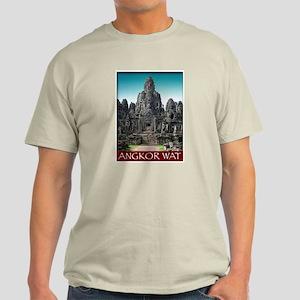 Angkor Wat Ash Grey T-Shirt