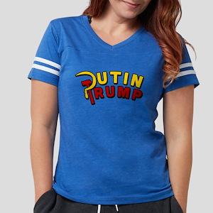 Putin Trump Color Womens Football Shirt