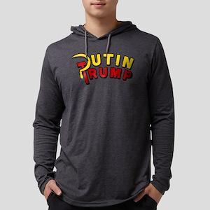 Putin Trump Color Mens Hooded Shirt