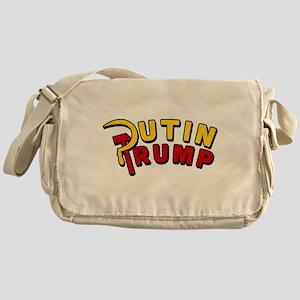 Putin Trump Color Messenger Bag