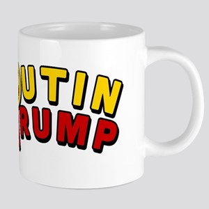 Putin Trump Color 20 oz Ceramic Mega Mug