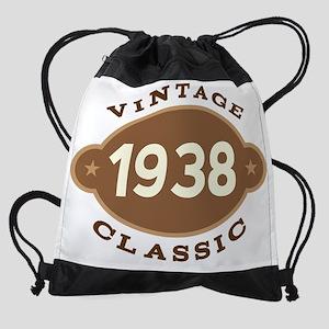 1938 Birth Year Birthday Drawstring Bag