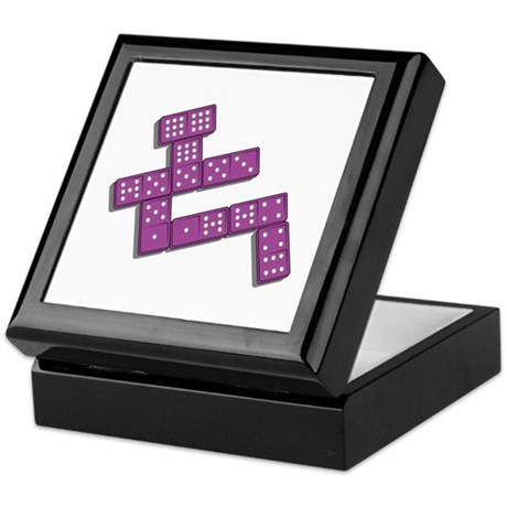 Dominoes Keepsake Box