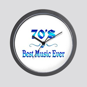 70s Best Music Wall Clock