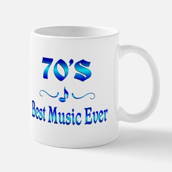 70s Best Music Mug