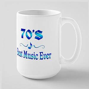 70s Best Music Large Mug