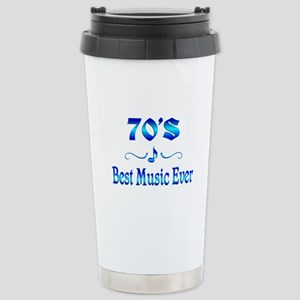 70s Best Music Stainless Steel Travel Mug