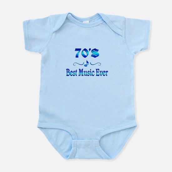 70s Best Music Infant Bodysuit
