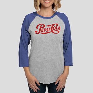 Pepsi Logo Womens Baseball Tee
