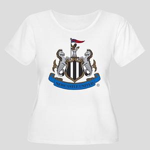 Newcastle United FC Crest Plus Size T-Shirt