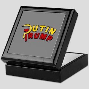 Putin Trump Color Keepsake Box