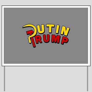 Putin Trump Color Yard Sign