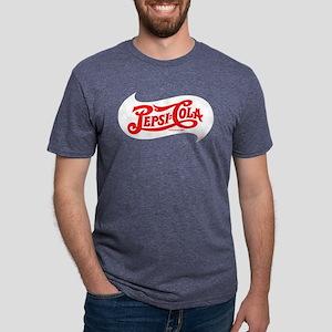 Pepsi Logo Mens Tri-blend T-Shirt