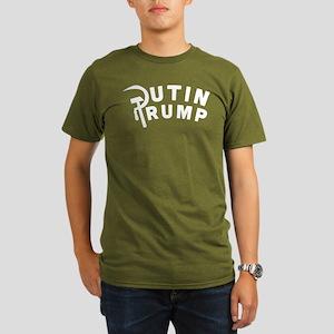 Putin Trump Organic Men's T-Shirt (dark)