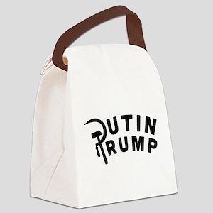 Putin Trump Canvas Lunch Bag