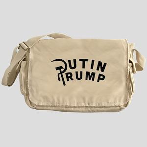 Putin Trump Messenger Bag