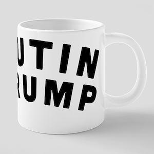 Putin Trump 20 oz Ceramic Mega Mug