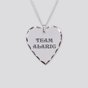 Team Alaric Necklace Heart Charm