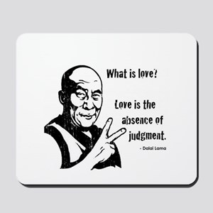 Definition of love Mousepad