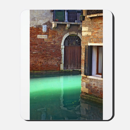 Light on Canal in Venice Mousepad
