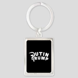Putin Trump Portrait Keychain
