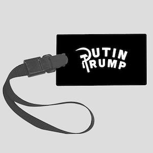 Putin Trump Large Luggage Tag