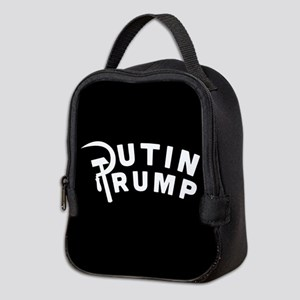 Putin Trump Neoprene Lunch Bag