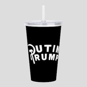 Putin Trump Acrylic Double-wall Tumbler