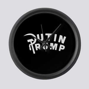 Putin Trump Large Wall Clock