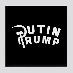 Putin Trump Tile Coaster