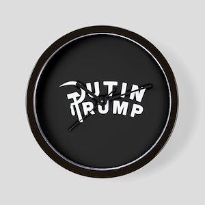 Putin Trump Wall Clock