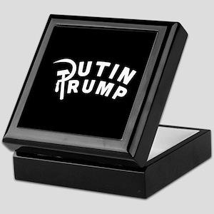 Putin Trump Keepsake Box